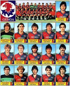 Genoa Football, Genoa Cfc, Football Team, Cricket, Comic Books, Club, Red, Trading Cards, Soccer