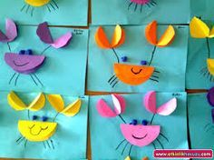 (No link- picture only) I can look at these pictures and use this craftivity idea for my beach/ocean unit. Preschool Crafts, Craft Projects, Diy And Crafts, Crafts For Kids, Arts And Crafts, Paper Crafts, Crab Crafts, Classroom Crafts, Sea Theme