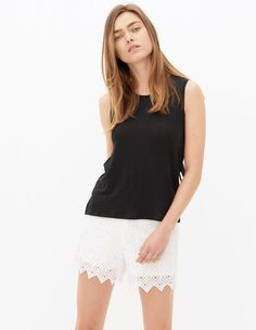 Tanja Top - T-shirts - Sandro Paris