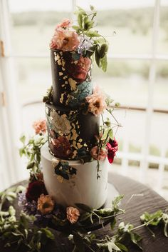 This couple s Mount Juliet Estate wedding features an ethereal black and blush tulle wedding dress that truly stuns in the acres of Irish meadow and forest Chiffon Wedding Gowns, Cascading Wedding Bouquets, Floral Wedding Cakes, Tea Length Wedding Dress, Tulle Wedding, Wedding Dresses, Camouflage Wedding, Gorgeous Cakes, Amazing Cakes