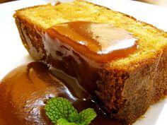 HMで簡単♪キャラメル味♡パウンドケーキの画像