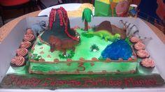 Dinosaurs cake