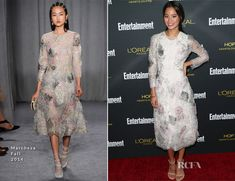 Jamie Chung In Marchesa – Entertainment Weekly's Pre Emmy Party