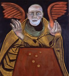 Self-Portrait as St-1. Matthew di Francesco Clemente