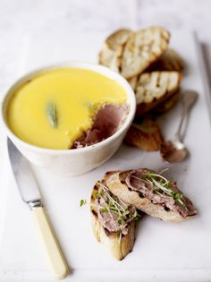 Old-school chicken liver parfait: perfect for serving with homemade bruschetta.