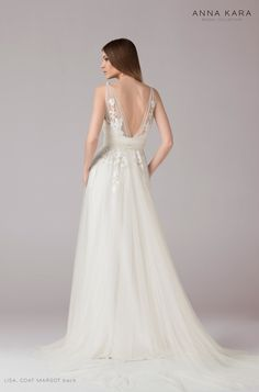 Brautkleider von Anna Kara - Model Lisa
