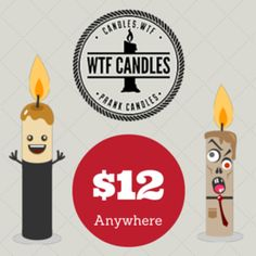 Prank Candles with Fart Scents and Terrible Smells for Practical Jokes – WTF Candles