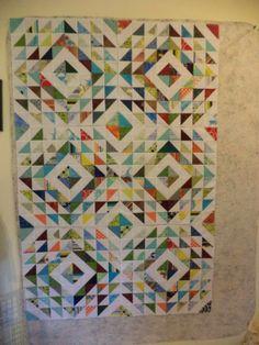 Kat & Cat Quilts: rainbow waves