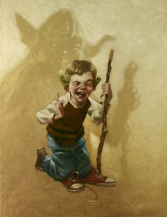 In a Backyard Far Far Away Series: Star Wars - Yoda by Craig Davison *