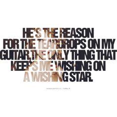 Teardrops On My Guitar by Taylor Swift