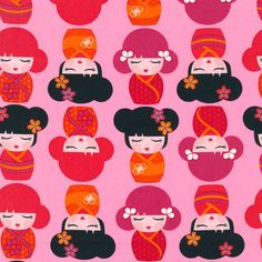 Hello Tokyo Fabric by Lisa Tilse From Robert by AllegroFabrics, $10.00
