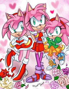 classic,modern and boom amy's!!!:3