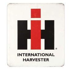 International Harvester - IH GEAR Tin Signs, Metal Signs, Tractor Supplies, International Harvester, Embossed Logo, Sign I, Argo, Ih, Farming