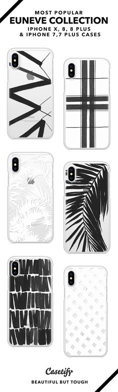 Most Popular Euneve Collection iPhone X, iPhone 8, iPhone 8 Plus, iPhone 7 and iPhone 7 Plus case. - Shop them here ☝️☝️☝️ BEAUTIFUL BUT TOUGH ✨ - take a bow, pattern art, black and white design, minimalistic
