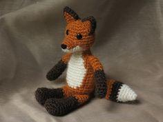 Crochet fox pattern