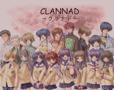Clannad -I'm pretty damn sure this is my all time favourite.  I'm such a big manly man and all-
