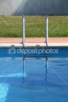 Pool and stairs — Foto Stock #9823369