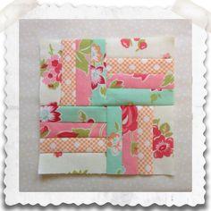 Threadbare Creations- Chatelaine Free BOW Sampler Quilt Block 65