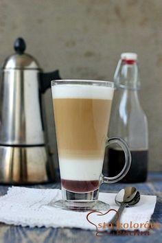 Warstwowa kawa z syropem piernikowym+film