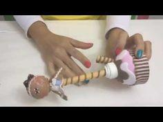 Krika.com - Aprenda a fazer uma linda caneta decorada - YouTube