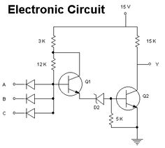 Electrical Circuit.  An electric circuit is a closed system where it contains at least one power source (voltage) and a load (resistance), the load should consume all the energy and transform this energy into another type of energy (Law of Conservation of energy).