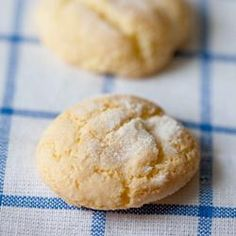 Swear by this recipe, I have used it several times and always get raves at work from it :)     Easy Sugar Cookies Recipe
