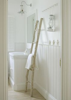 Escalera toallero !