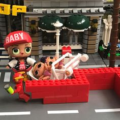 Flash! Look what youve done!  #lol #lolsurprise #babydoll #baby #doll #lilsis #lil #sister #lego #legominifigures #toyphotography #toyartistry #legos #picoftheday #saturday #swag #geeky #flash #legoflash #bricks #stroller #sylvanians #sylvanian #calicocritters #calico #shop #legomodular #cap #street #lantern