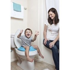 Bumbo Toilet Ring - Blue, Toilet Training Seat