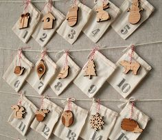 Woodland Ornament #AdventCalendar by peppersprouts on Etsy