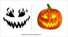 pumpkin carving ideas | Free Scary Pumpkin Carving Patterns Ideas Scary Pumpkin Carving ...