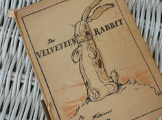 Vintage rare edition of the Velveteen Rabbit with fantastic full page and double-page illustrations. Cover shows some wear but pages are in