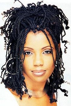 Kinky Twists Hairstyles Awesome Short Kinky Twist Hairstyles  Jacquline  Pinterest  Short Kinky