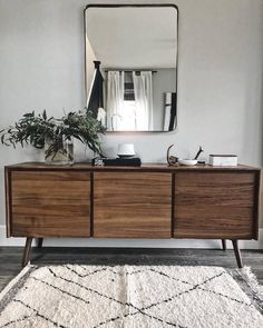 The best Mid-Century Modern Furniture and Decor Furniture Direct, High Quality Furniture, Furniture Companies, Furniture Stores, Walnut Furniture, Modern Furniture, Credenza Decor, Sideboard Ideas, Walnut Sideboard