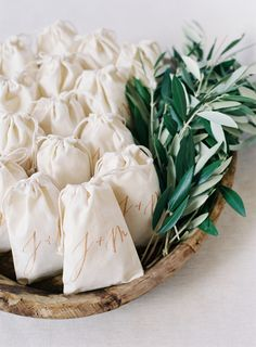 Winter wedding favor ideas you need to try: http://www.stylemepretty.com/2015/12/06/warm-up-to-these-winter-wedding-favor-ideas/