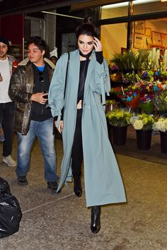 20 Times Kendall Jenner Wore a Robe Outside | Teen Vogue