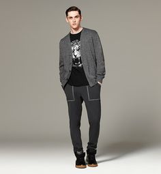 3.1 Phillip Lim for Target, cardigan and sweats for R
