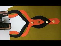 Latest Neck Design Cutting and Stitching for Kurti / Suit / Kameez, Very easy Method DIYIn this video , you will learn how to make this double layer and very creative neckline pattern in perfect way If you like this design please like and share . Churidhar Neck Designs, Salwar Neck Designs, Churidar Designs, Kurta Neck Design, Neck Designs For Suits, Neckline Designs, Blouse Neck Designs, Sleeve Designs, Dress Designs
