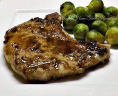 Angels Home Sweet Homestead: Balsamic Dijon Glazed Pork Chops