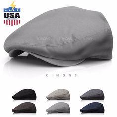 Baseball & Softball Sporting Goods Brand Ole Newsboy Gatsby Ivy Cabbie Driver Flat Plaid Relaxed Hat Cap Elegant Shape