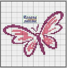 Butterfly Cross Stitch Mini Borders Animals
