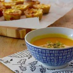 Het recept voor de pompoensoep staat nu online. De soep is zonder dierlijke producten dus #vegan