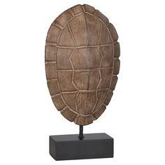 Mudhut™ Wood Tone Tortoise Stand - Large