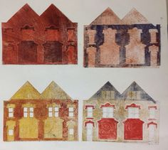 Collograph by Kate