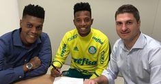 Palmeiras renova contrato com Moisés, Tchê Tchê e Thiago Santos