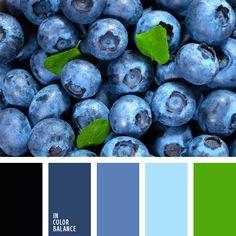 azul arándano, azul oscuro, azul turquí, celeste y azul oscuro, color azul arándano, color baya azul, decoración de la habitación de un niño, elección del color, paleta de colores para cuarto de niño, tonos verdes y celestes, verde fuerte.