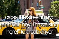 Bucket List. Before I Die. xD