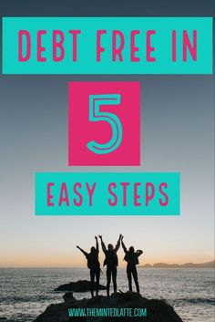 How to Get Out of Debt in 5 Easy Steps? In this post you will learn about the two debt pay off strategies: debt snowball and debt avalanche and the five easy steps you can take to start paying off you debt and make your way to financial independence.