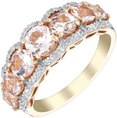Vivid 9ct rose gold beauty bling jewelry fashion