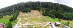 Commezzadura nel Trentino - Alto Adige Piazzale telecabina Daolasa
